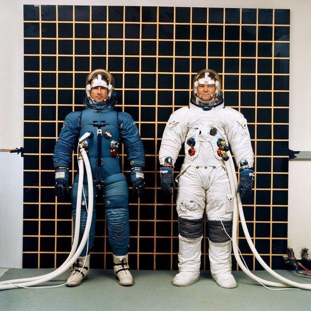 دشواری های آزمایش لباس فضایی