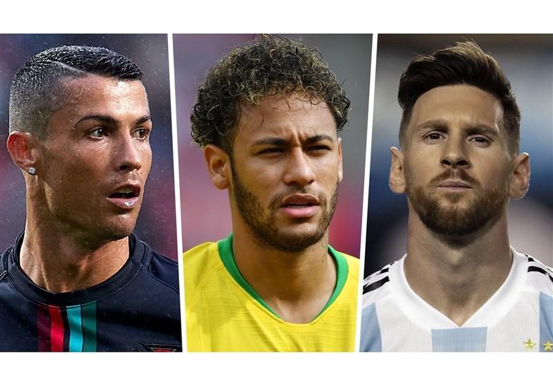 فوتبال دنیا، نیمار: لیونل مسی یکی از بهترین بازیکنان تمامی ادوار است، کریستیانو رونالدو یک اعجوبه است