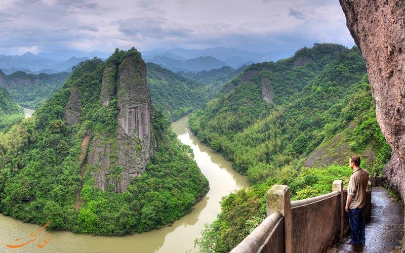 آشنایی با پارک جنگلی ملی تیان من چین