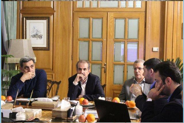 دیدار رئیس اورژانس کشور با شهردار تهران
