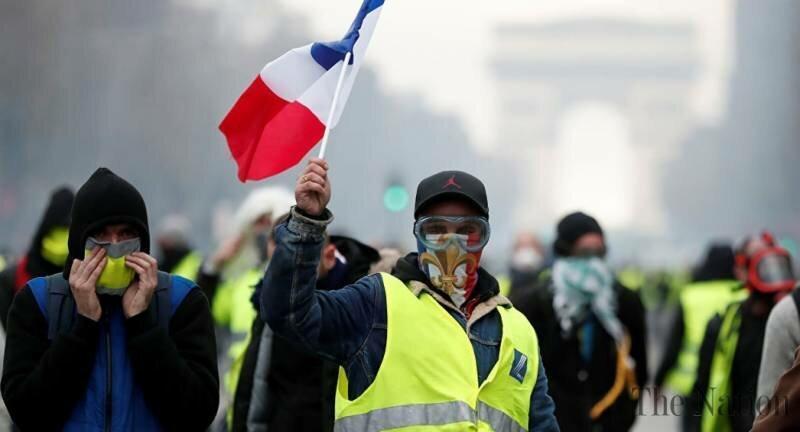 دوازدهمین شنبه سیاه در فرانسه؛ استقرار80 هزار نیروی امنیتی