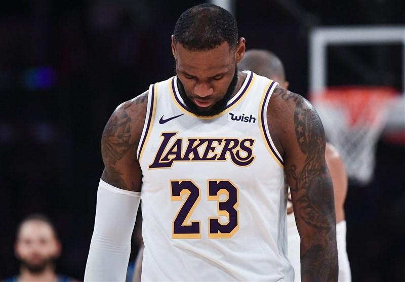 لیگ NBA، سنگین ترین شکست دوران حرفه ای جیمز در ایندینا رقم خورد