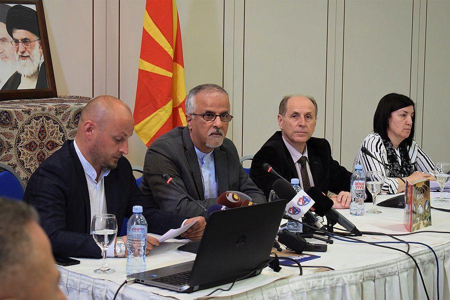 ایران و مقدونیه راه های همکاری های گردشگری را آنالیز کردند