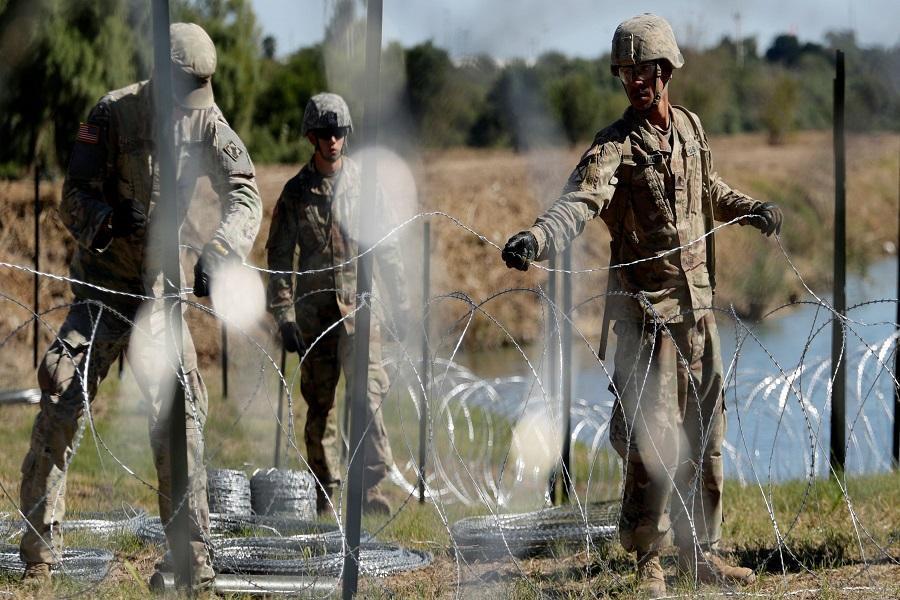 پنتاگون300 نظامی را به مرز مکزیک اعزام کرد