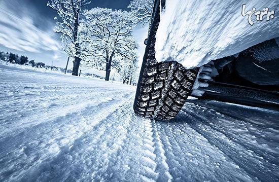 چگونه در برف، باران و مه رانندگی کنیم؟