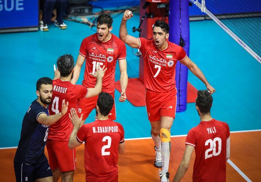 خبرنگاران حمایت طرفداران انگیزه تیم والیال ایران را افزایش داد