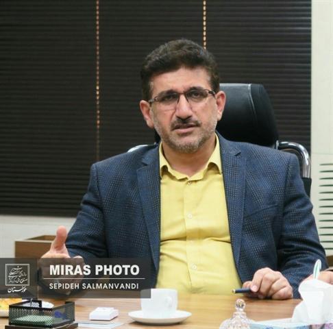 ارتقای حکم سرپرست اداره کل میراث فرهنگی خوزستان به مدیرکلی