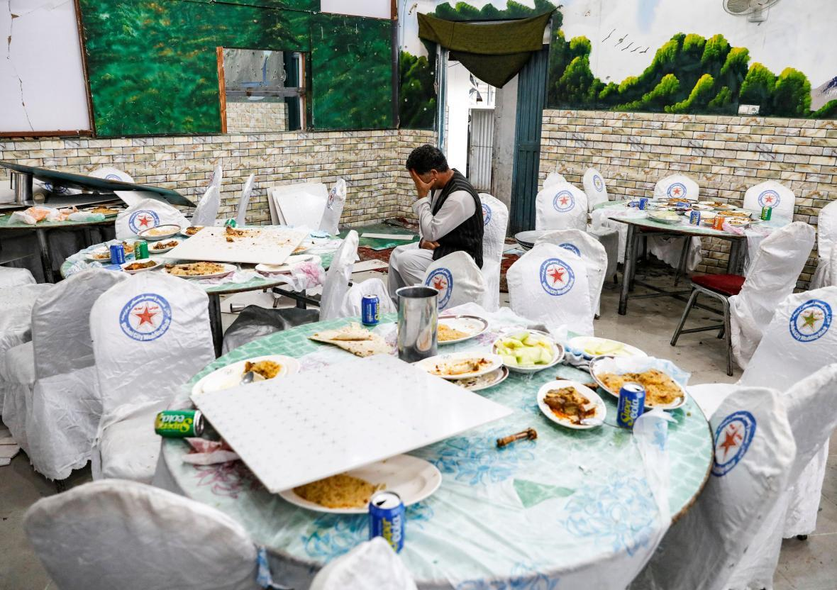مراسم عروسی در افغانستان با انفجار بمب به عزا تبدیل شد