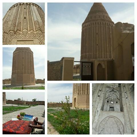 شروع مرمت و احیای برج علی آباد کشمر در بردسکن