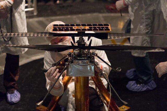 تجهیز کاوشگر مارس 2020 به اولین بالگرد پروازی خارج از زمین