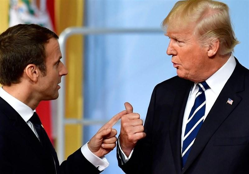 دفتر ریاست جمهوری فرانسه: مواضع ترامپ و ماکرون نزدیکتر شده است