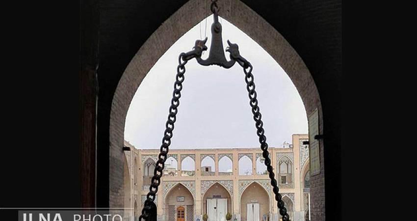 زنجیر بست نشینی مسجد حکیم اصفهان دزدیده شد