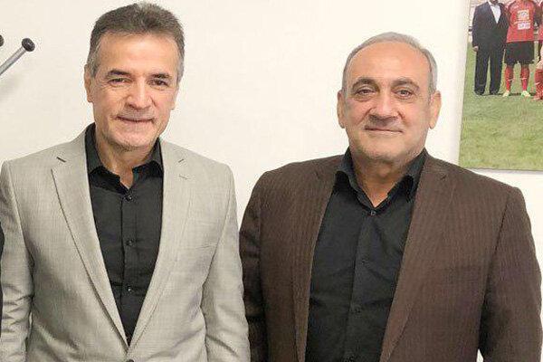 حمیدرضا گرشاسبی به دیدار محمدحسن انصاریفرد رفت