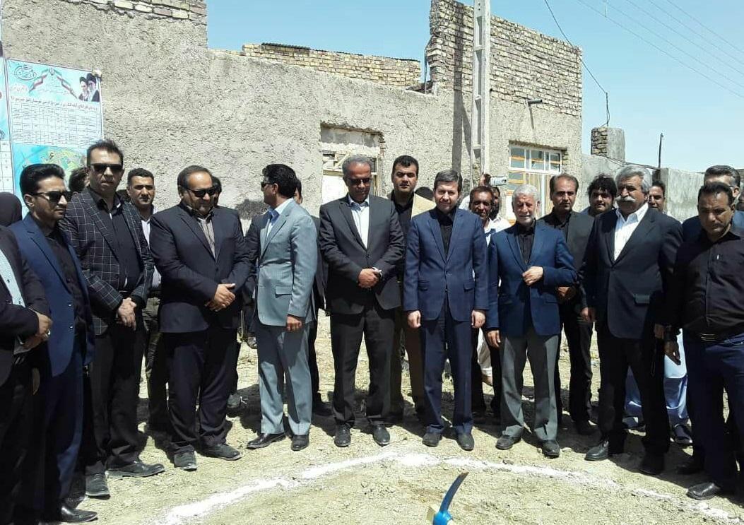 حضور معاون عمرانی وزیر کشور در مراسم افتتاح پروژه بازآفرینی شهری زابل