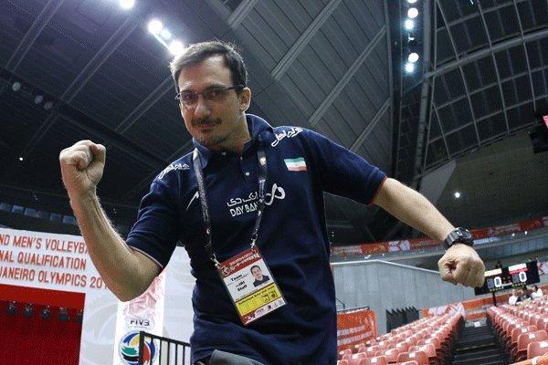خوان سیچلو: والیبال ایران به تعبیر رویای المپیک نزدیک شده است