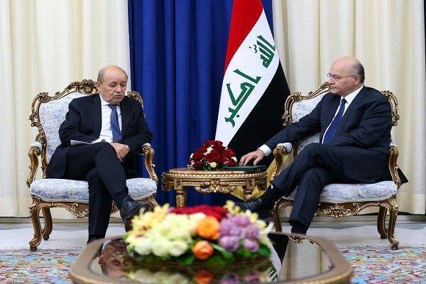 تأکید برهم صالح بار دیگر بر لزوم توقف حمله ترکیه به شمال سوریه