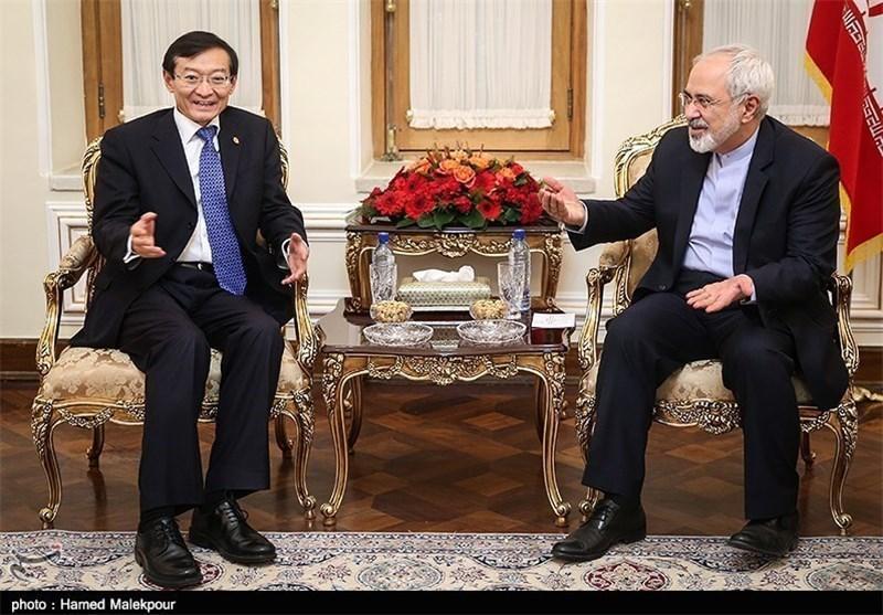 تشکر ظریف از نقش مثبت چین در گفت وگوهای هسته ای ایران و 1