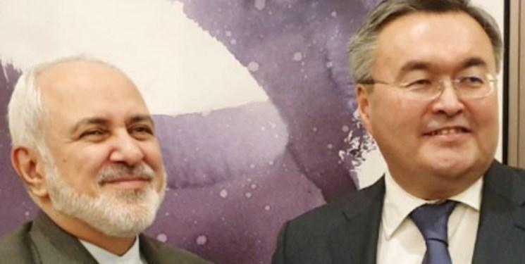 رایزنی وزرای خارجه ایران و قزاقستان درباره مناسبات دوجانبه