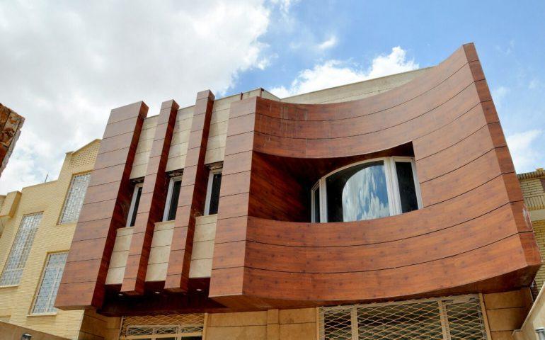 نماکاری ساختمان با پانل های HPL