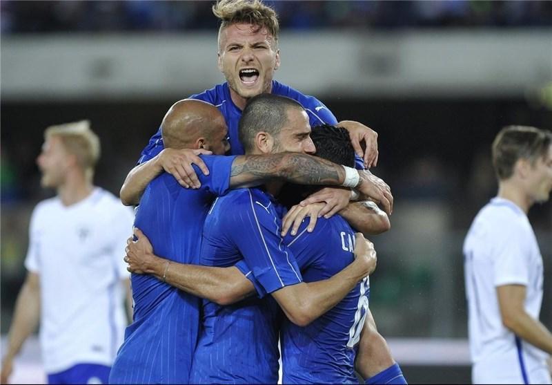 25 بازیکن به اردوی تیم ملی ایتالیا دعوت شدند