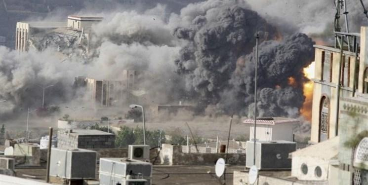 حملات توپخانه ای شدید ائتلاف سعودی به الحدیده