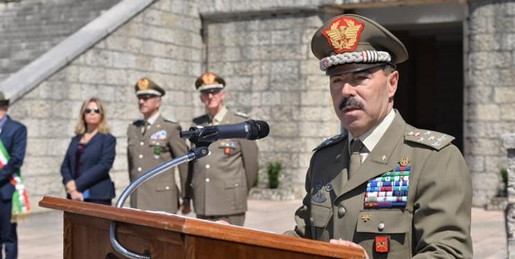رئیس ستاد کل ارتش ایتالیا به کرونا مبتلا شد