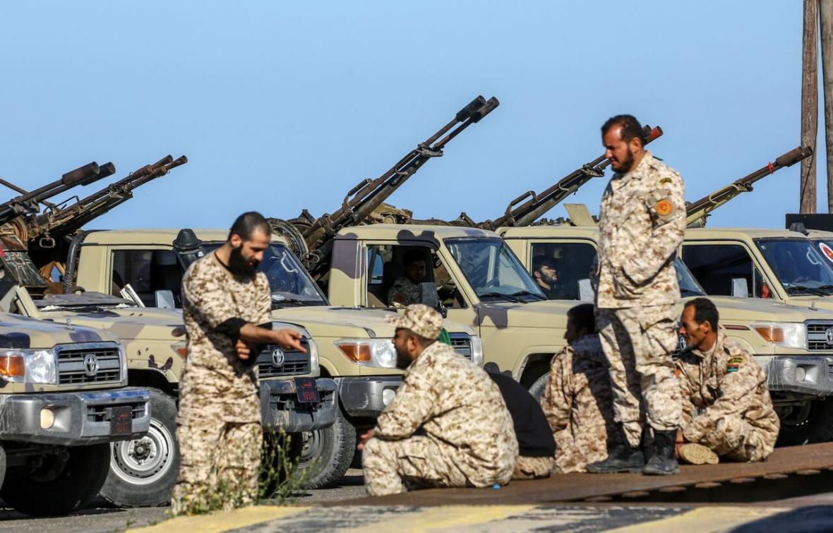 نظامیان مصری به خاطر کرونا از لیبی خارج می شوند
