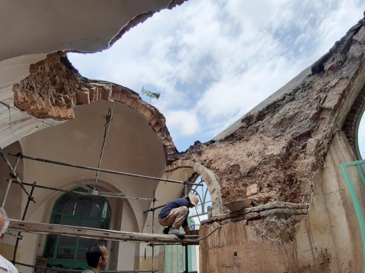 خبرنگاران چهار بنای تاریخی در خلیل آباد خراسان رضوی به بازسازی احتیاج دارند