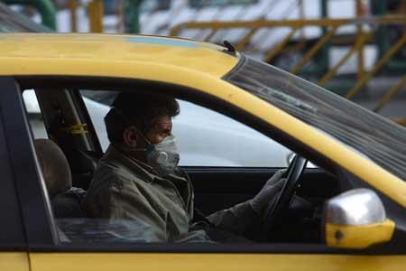 استفاده از ماسک در تاکسی اجباری نیست ، کاهش ابتلای تاکسیرانان پایتخت به کرونا
