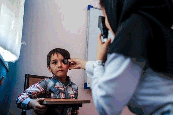 طرح پیشگیری از تنبلی چشم زودهنگام اجرایی می گردد