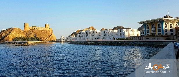 کاخ سلطنتی قصر العالم از زیباترین جاذبه های مسقط، تصاویر