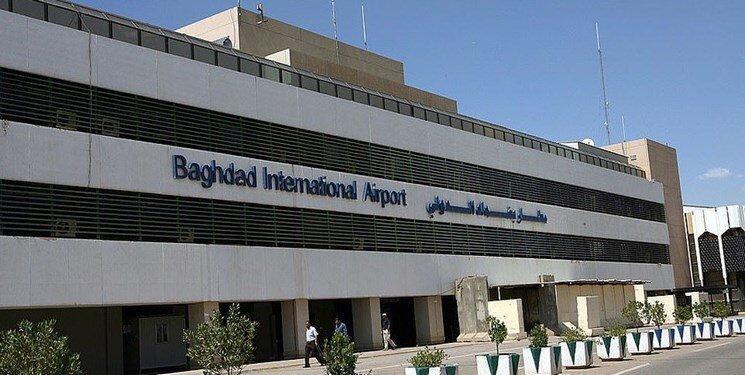 فرودگاه بغداد هدف موشک نهاده شد