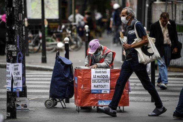 رشد تصاعدی آمار مبتلایان به کرونا در فرانسه