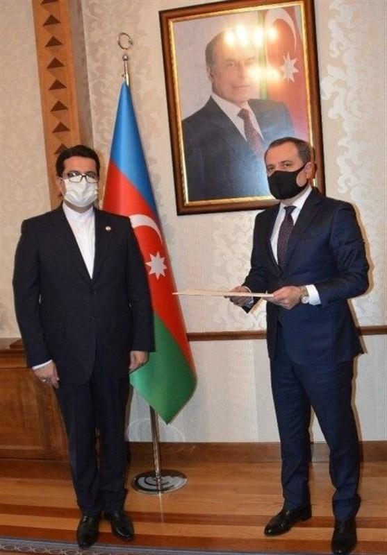 سفیر ایران با وزیر خارجه جمهوری آذربایجان ملاقات کرد