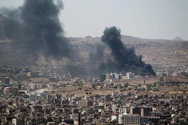 جنگنده های سعودی پایتخت یمن را بمباران کردند