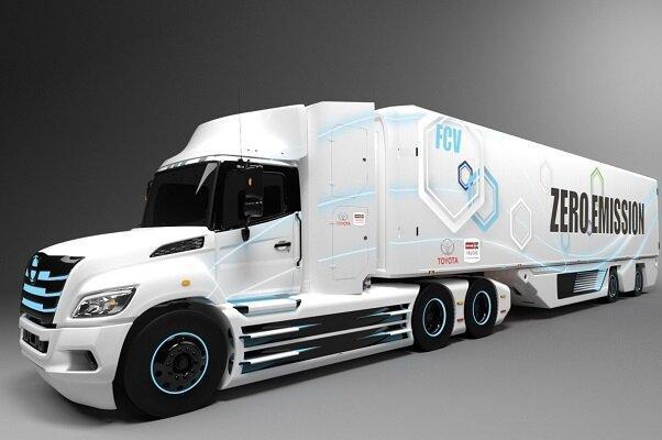 تولید کامیون های هیدروژنی تویوتا در آمریکای شمالی
