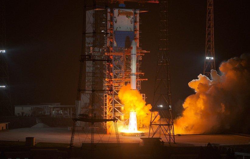 چین ماهواره دیگری را برای توسعه اینترنت اشیا در مدار قرار داد