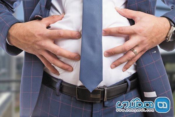 خطر مرگ زودرس ناشی از چربی شکمی حتی در افراد کم وزن