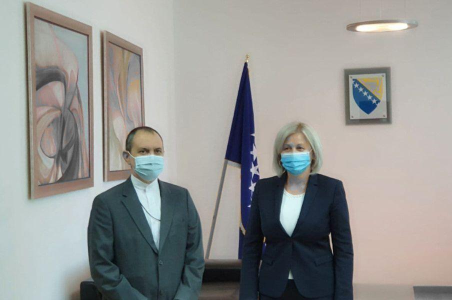 خبرنگاران مقام پارلمانی بوسنی: از گسترش مناسبات دوجانبه با ایران حمایت می کنیم