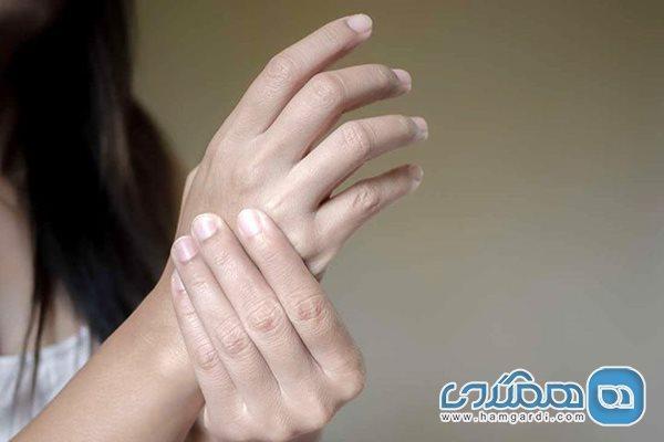 خواب رفتن دست و پا نشانه کدام بیماری است؟