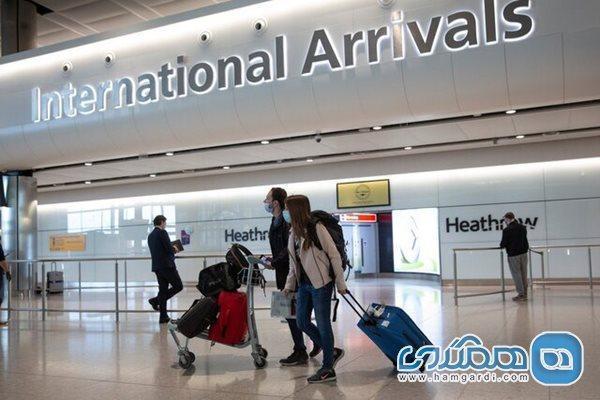 اعلام قوانین جدید مربوط به محدودیتهای مسافرتی در بریتانیا