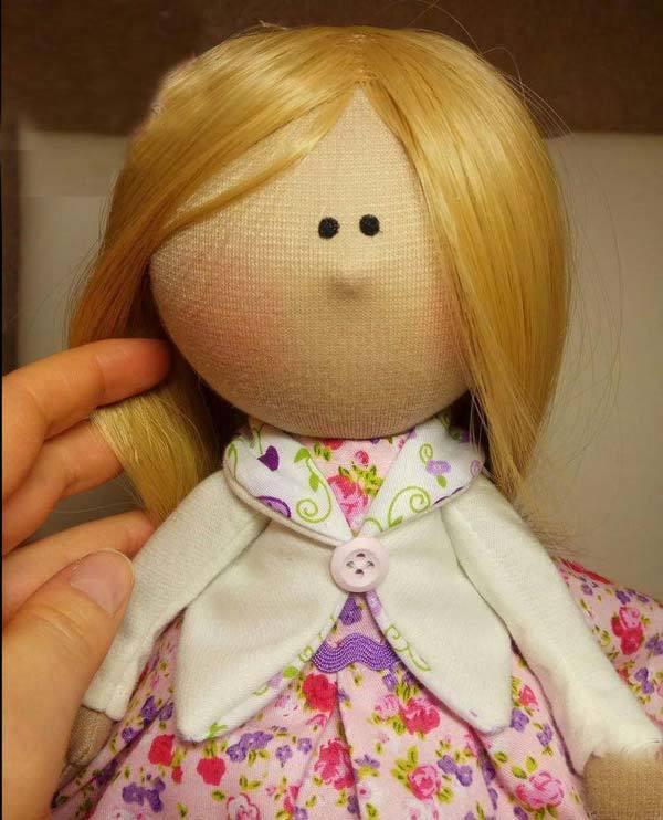 آموزش دوخت عروسک روسی با الگو