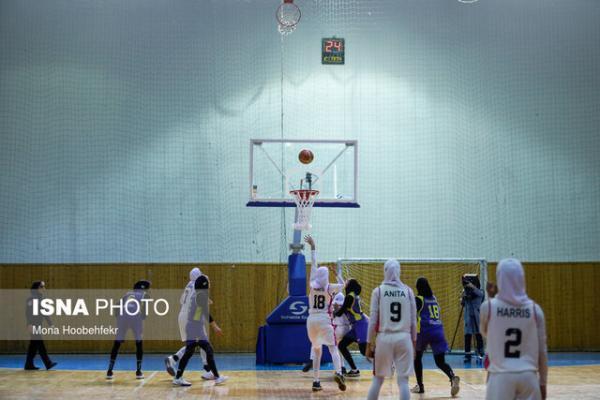 پیروزی گروه بهمن و مهرام در نیمه نهایی بسکتبال زنان