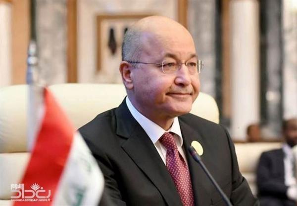 عراق، تاکید برهم صالح بر تصمیم مجلس در اخراج نظامیان آمریکایی