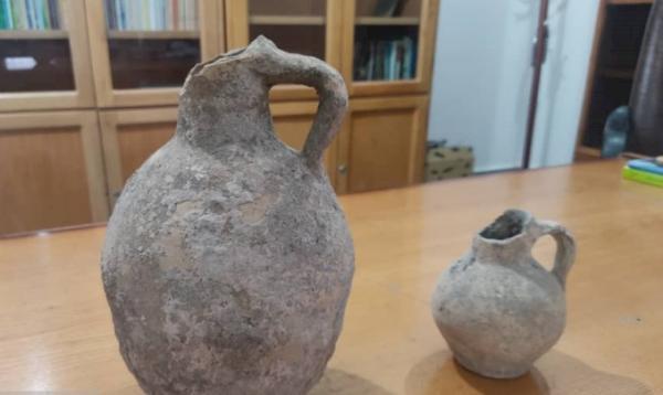 ظروف سفالی دوره اشکانی در شهرستان ابهر کشف شد