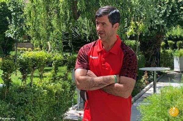 کریم باقری: با هر شکل و عنوانی باید به تیم ملی کمک کرد