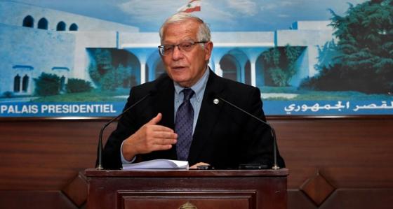دیدار جوزپ بورل با مقام های ارشد لبنان