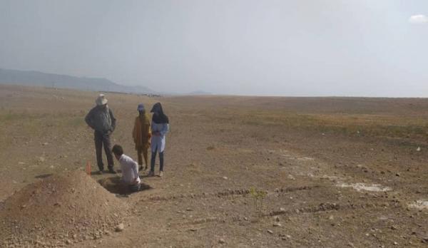 شروع عملیات مشخص حریم تپه خلیل آباد شوط