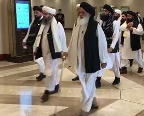 هیاتی از طالبان وارد مسکو شد