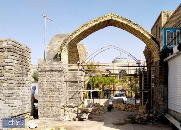 محور فرهنگی تاریخی شهر بافق احیا و سامان دهی می گردد